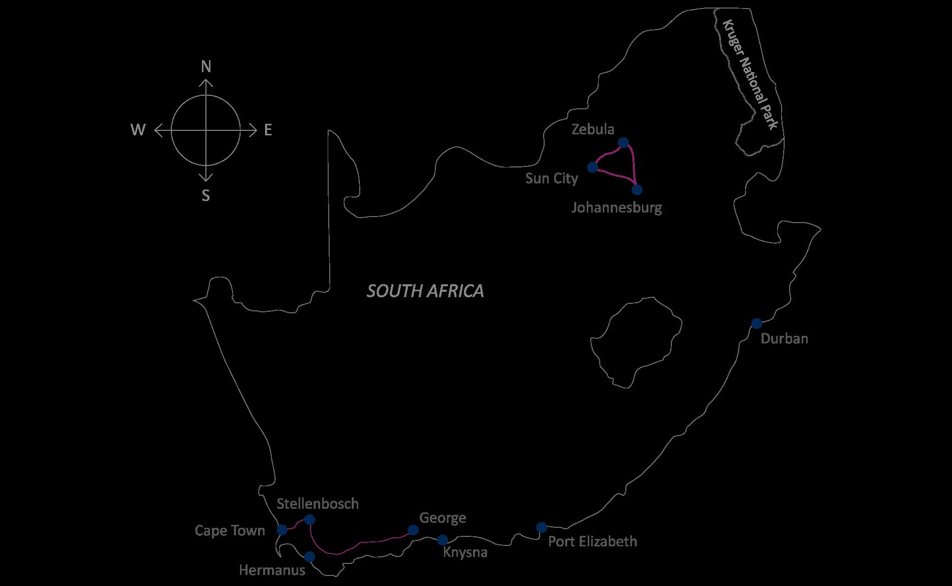 The Exciting North Perfect Golftravel In Joburg Suncity Und Limpopo